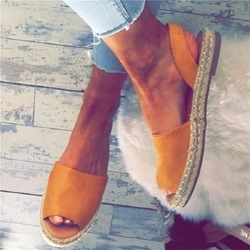 Shoespie Flat Slip On Open Toe Casual Shoes