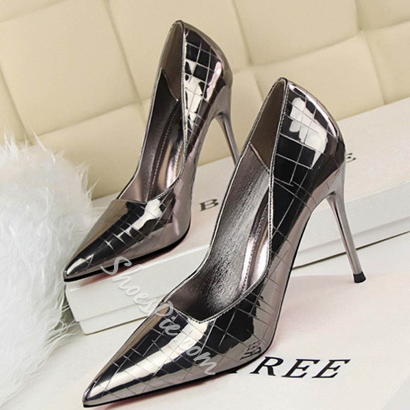 Shoespie Stiletto Heel Court Pumps