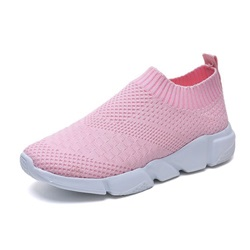 Shoespie Trendy Round Toe Slip-On Sneakers