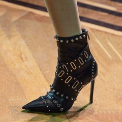 Shoespie Sexy Pointed Toe Back Zip Stiletto Heel Casual Boots