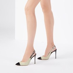 Shoespie Stylish Stiletto Heel Buckle Pointed Toe Low-Cut Upper Sandals