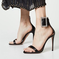 Shoespie Trendy Open Toe Buckle Stiletto Heel Banquet Sandals