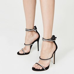 Shoespie Sexy Open Toe Chunky Heel Line-Style Buckle Casual Sandals