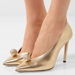 Shoespie Sexy Pointed Toe Slip-On Low-Cut Upper Casual Stiletto Heels