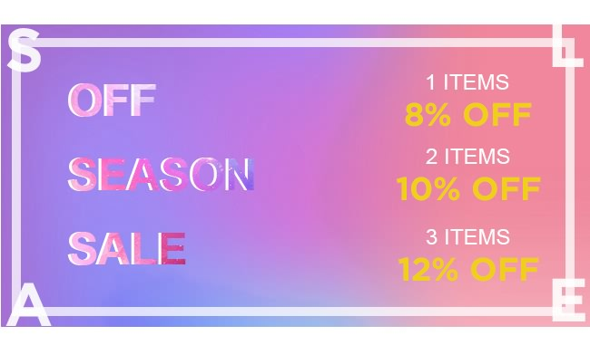 off season sale